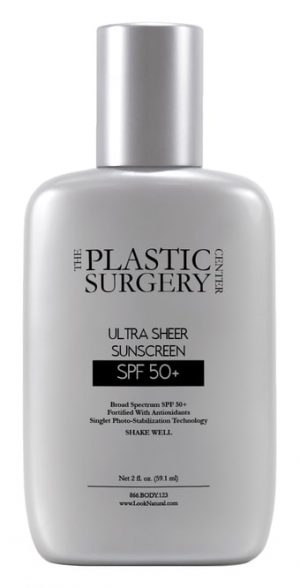 Ultra Sheer Sunscreen with SPF 50